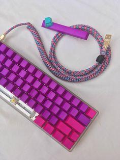 Diy Mechanical Keyboard, Apple Desktop, Computer Keyboard, Geek Stuff, Journey, Beaded Bracelets, Album, Personalized Items, Madness