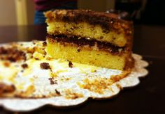 Tiramisu Cake sectional