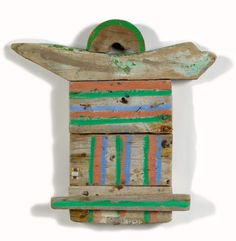 Betty B. Parsons - Wood Baby, 1981 Mixed media on wood, 19 x 19 x 3 inches Book Sculpture, Abstract Sculpture, Wall Sculptures, House By The Sea, Sticks And Stones, Art Object, Wood Crafts, Wood Art, Mixed Media