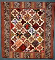 Wallflower was inspired by a circa 1890 quilt made in new Jersey by an unknown woman.