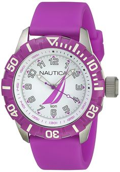 Nautica NSR-100 J-Class Women's watches NAI08514G -- For more information, visit image link.