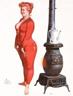 so cute... hilda by duane bryers. I have a thermometer with this picture on it. That started it all . . .