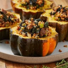 Stuffed Acorn Squash - Delish.com