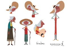 My Family and the Wolf designs - Maxime Mary