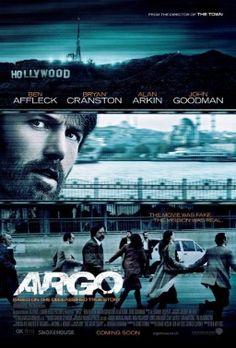 Argo movie poster in Best Movies of 2012