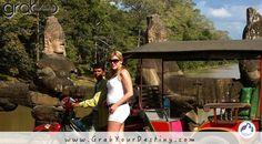 Afternoon Walk At Angkor Wat, Cambodia… #Travel #GrabYourDestiny #SiemReap #JasonAndMichelleRanaldi #AngkorWat #Cambodia #KingdomOfWonder #Temples  www.GrabYourDestiny.com