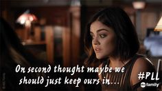 Yeah, removing that chip does not look fun. | Pretty Little Liars GIFs