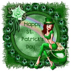 Patrick's Day Leprechaun Girl with Pot Of Gold Sant Patrick, St Patricks Day Pictures, Happy St Patricks Day, Leprechaun Girl, Holiday Gif, Seasonal Image, Gifs, St Paddys Day, Saints