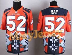 """$35.88 per one, welcome email """"MaryJersey"""" at maryjerseyelway@gmail.com for 2015 NFL Draft Nike Broncos 52 Shane Ray Orange Men Stitched Elite Noble Fashion Jersey"""