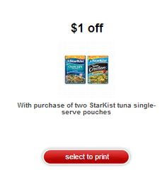 Target: FREE Starkist Tuna Pouches with Coupon Stack!