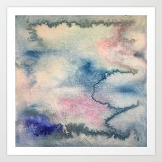 Cloudy Happy Daze Art Print by Sir Torr. Worldwide shipping available at Society6.com. Just one of millions of high quality products available.