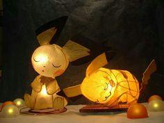 pokemon lamps. Amazing.