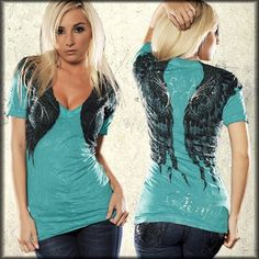 Sinful Wing Shirt