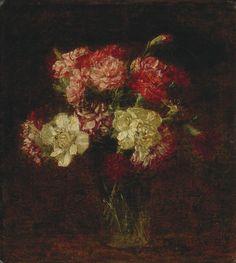 Œillets, 1899, Henri Fantin-Latour