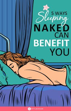 5 Ways Sleeping Naked Can Benefit You: Proving to be one of the healthiest things to do, going to bed without your clothes on is the new rage among health freaks. Health Advice, Health And Wellness, Health Care, Health Fitness, Women's Health, Lower Cortisol Levels, Weak Immune System, Benefits Of Sleep, Health Benefits Of Ginger