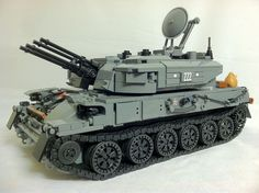 LEGO Tank MOC - ZSU-23-4V1 'Shilka' #LEGO #legostagram #legomoc #legomocs #legophotography #toystagram #legobuilding #legobuilder #legonerds #legonerd #legobricks #toybrick #bricktoys #bricktoy #legos #moc #mocs #afol #toyphotography #afolclub #legostagram #legotank #legowar #legomilitary #tank #legowars