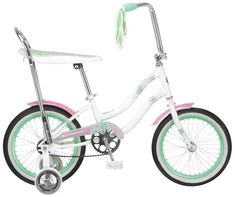 "Schwinn 16"" Girl's Jasmine Bike, White, Bicycles"