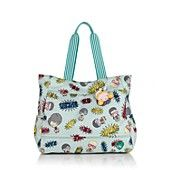 Harajuku Lovers Candy Tote in Super Hot Heroes....love Harajuku and LOVE this print!
