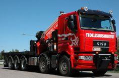 Sisu R500 Heavy Duty Trucks, Big Rig Trucks, Heavy Truck, Tow Truck, Heavy Machinery, Commercial Vehicle, Heavy Equipment, Rigs, Finland