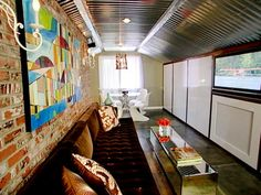 DIY Network has inspiring ideas on how to turn an unused attic into extra living space.