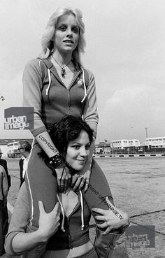 Cherie Currie and Joan Jett