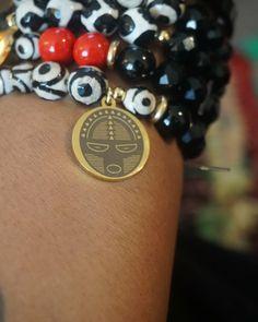 #charmbracelet #beadbracelets #blackpride #ogun #wargod #godofwar #theurbanelectric #beadbracelets Urban Electric, Black Pride, God Of War, Bracelet Watch, Charmed, Photo And Video, Beads, Bracelets, Accessories