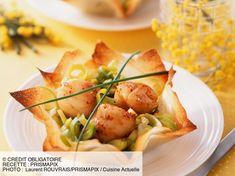 undefined Pizza Au Foie Gras, Buffet, Marmite, French Food, Scallops, Paella, Entrees, Zucchini, Cake Recipes