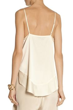 By Malene Birger | Kirah stretch-silk camisole | NET-A-PORTER.COM