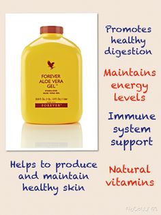 Aloe Vera Gel https://www.foreverliving.com/retail/entry/Shop.do?store=USA&language=en&categoryName=Personal+Care+R&distribID=001002539997