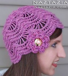 Crochet Cloche Hat ----- pattern is available for download for $5.50