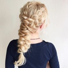 See this Instagram photo by @hair_by_zolotaya #fantasyhair #princess