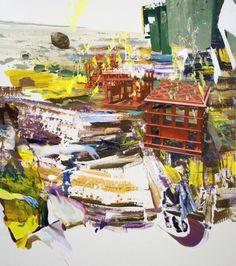 Giuseppe Gonella, S.t. , openacrylic on canvas