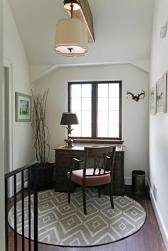 Simple Nook Turned Home Office