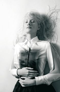shirt - Rotem Mitz / photographed by Dudi Hasson for At magazine