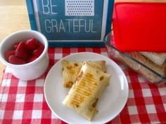 """Do-It-Yourself """"Hot Pockets"""" - make these to have ready in your freezer for a healthy kid meal :)"""