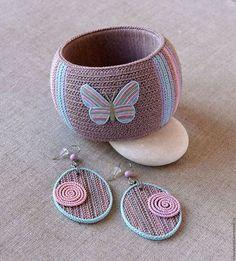 "Bracelets handmade.  Fair Masters - handmade.  Buy a bracelet and earrings made of polymer clay, ""Summer Day"".  Handmade.  Combined"