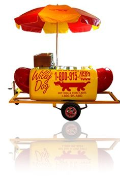 Hot Dogs, Ice Cream Seller, Food Cart Design, Bike Food, Hot Dog Cart, Meals On Wheels, Hot Dog Stand, Food Trailer, Food Stall