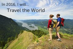 In 2016, I will travel the world. #TSFL