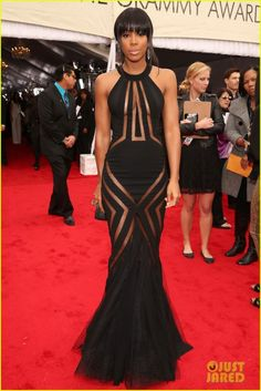 The 55th Annual GRAMMY Awards - Red Carpet --> Kelly
