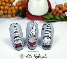 Winter Nails, Christmas Nails, Manicure, Nail Designs, Nail Art, Cartoon, Ideas, Christmas Gel Nails, Christmas Manicure