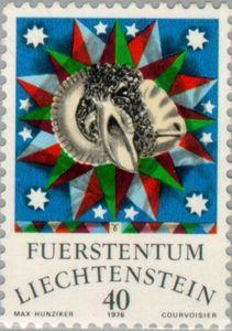 Sello: Aries (Liechtenstein) (Zodiac) Mi:LI 659,Yt:LI 600,Zum:LI 597
