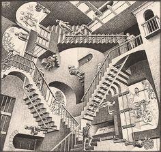 M.C. Escher – Relativity