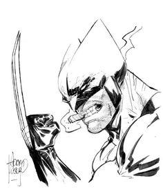 Wolverine by Adam Kubert #Wolverine