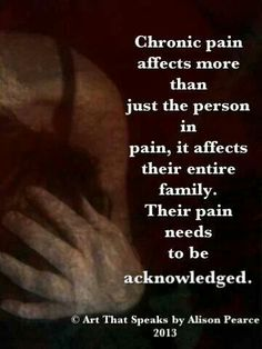 Pain needs to be acknowledged in order to find ways to work WITH your limitations and possibly exceed them <3 www.facebook.com/iwillfindjoy