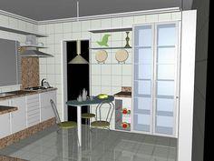 Cozinha/Copa. Edifício Infinity Residence. Av. República Argentina, 1812 - Água Verde, Curitiba - Paraná. www.valorrealinvestimento.com.br/
