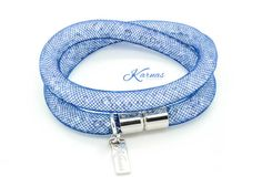 ULTRA POSH STARDUST Crystal Navy Bracelet & by KarnasDesignStudio