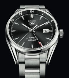 TAG Heuer 2014 Carrera Calibre 7 Twin-Time Automatic