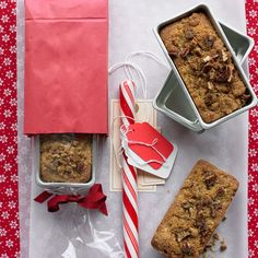 Wrap these little cakes as holiday gifts -- they're wonderful treats on a cold winter afternoon.