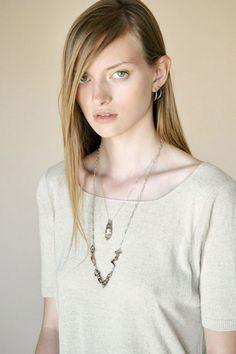 Open House - Silver Hand Necklace | BONA DRAG