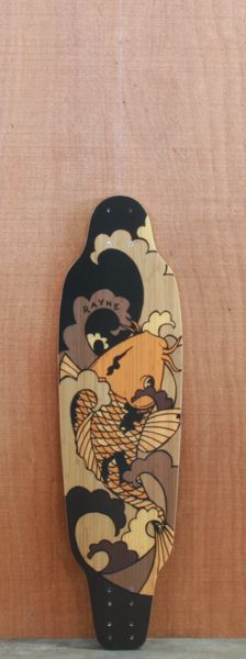 "Rayne 33.5"" Timeline Longboard Deck, I reeeeeeaally like this deck."